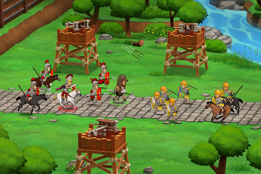Grow Empire Rome Mod Full Tiền Vàng Cho Android