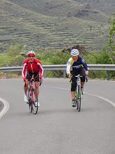 Photo: Ladies on final climb