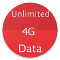 unlimited 4G data prank free app icon