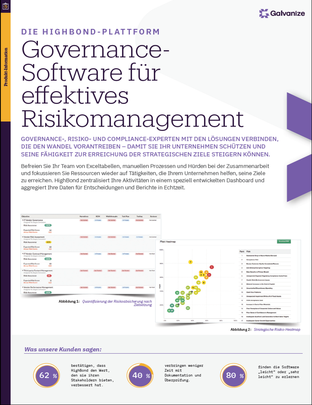 Governance-Software für effektives Risikomanagement