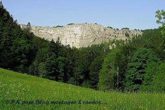 Photo: Le creux-du-Van (Jura suisse)...