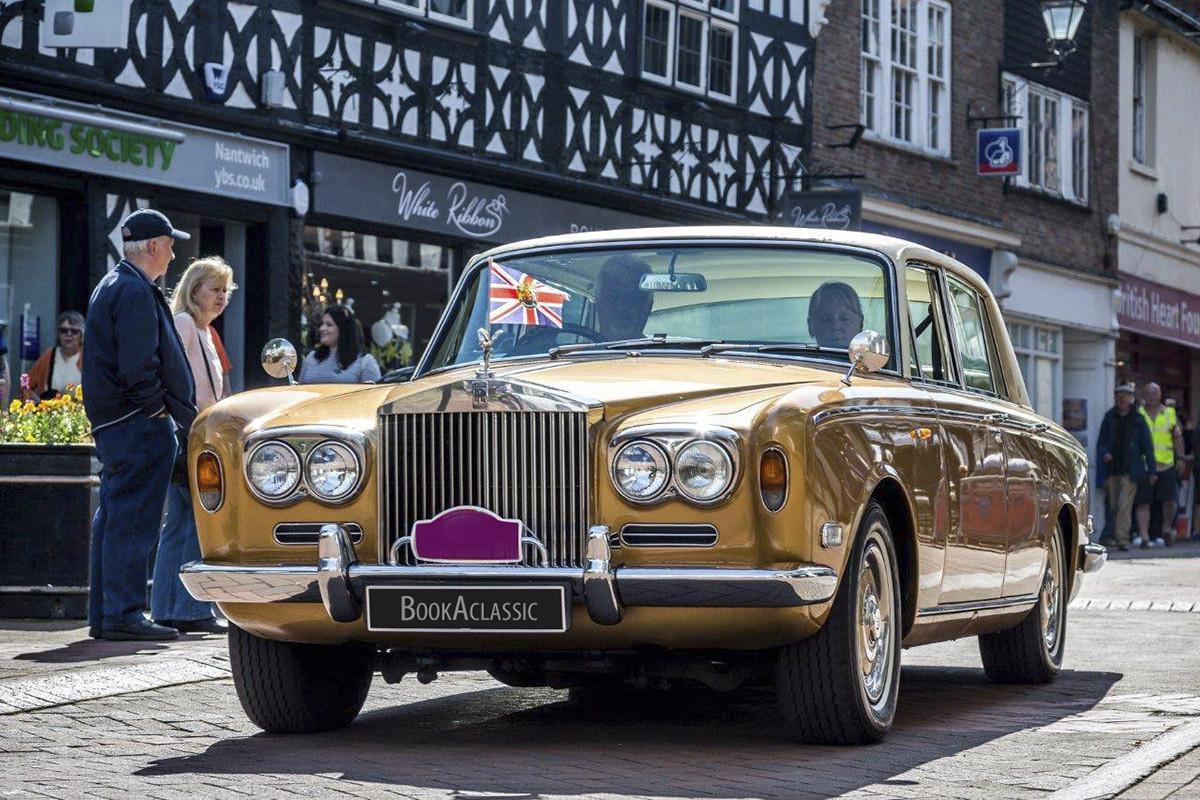 Rolls-Royce Silver Shadow Series 1 Hire Crewe