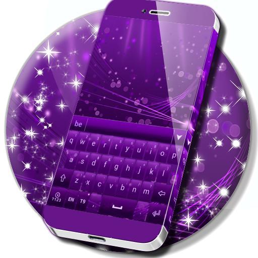 Color Keyboard Purple