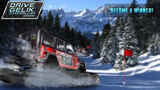 Drive Gelik Caterpillar Snow - náhled