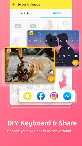Facemoji Emoji Keyboard:DIY, Emoji, Keyboard Theme  screenshots 1