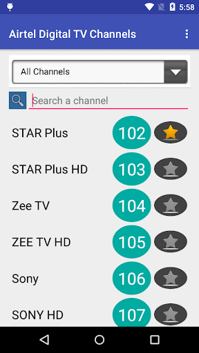 Digital TV Channels for India Latest Version APK 2