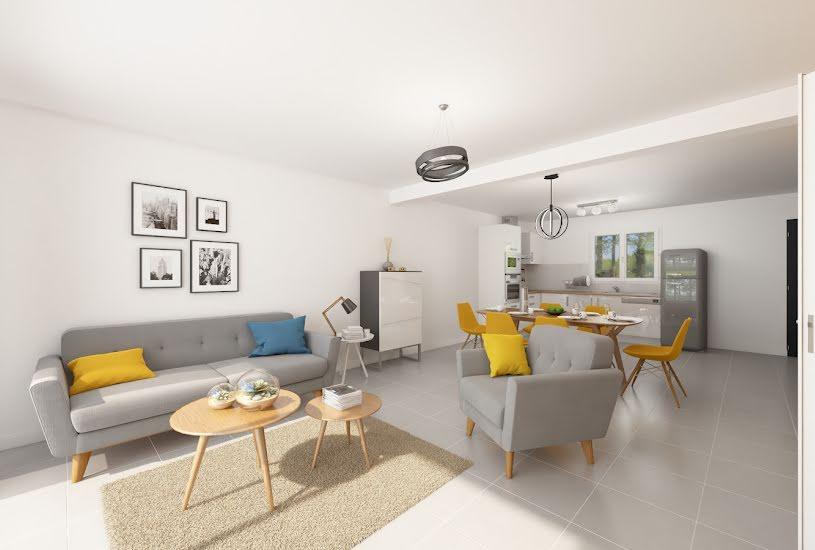 Vente Terrain + Maison - Terrain : 1200m² - Maison : 107m² à Candé (49440)