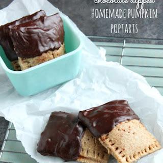 Chocolate Dipped Homemade Pumpkin Poptarts