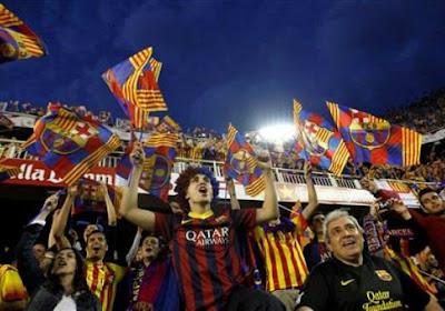 Un maillot spécial C1 pour Barcelone
