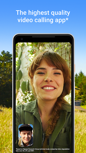 Google Duo - High Quality Video Calls 51.1.243167350.DR51_RC09 screenshots 1