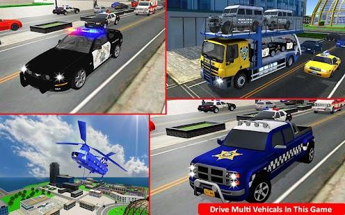 polizei flugzeug auto transporter transportunternehmen die android spiele download. Black Bedroom Furniture Sets. Home Design Ideas