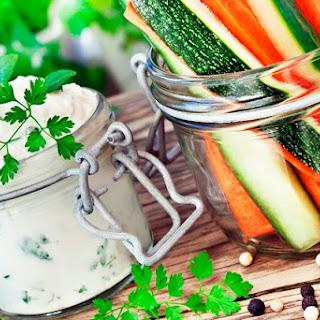 Young Zucchini Plus Cucumber