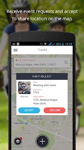 Tracko - Realtime Tracking- screenshot thumbnail