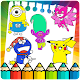 Coloring pages for cartoons fan (game)