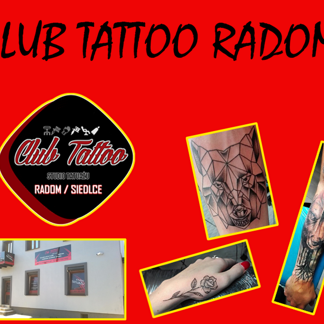 Club Tattoo Studio Tatuażu Radom Oraz Siedlce