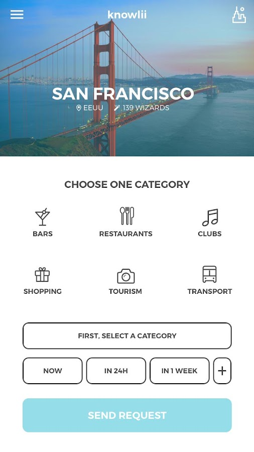 Knowlii - next step in travel- screenshot