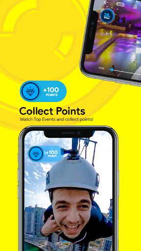 360VUZ - Live Stream 360u00b0 VR Video App 4.6.7 screenshots 3