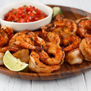 Grilled Fiesta Shrimp Cocktail.