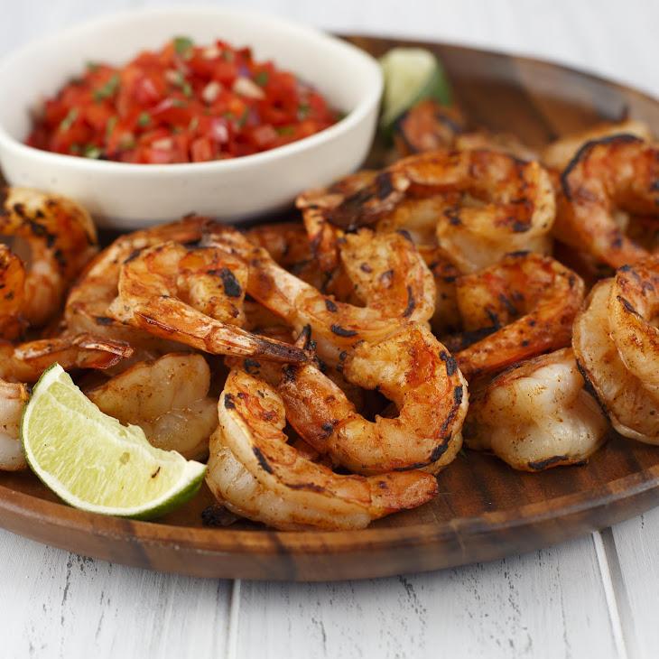 Grilled Fiesta Shrimp Cocktail
