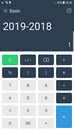 Super Calculator 1.0.4 screenshots 2