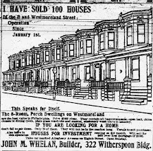 Photo: 1905, Philadelphians will recognize this style of house.