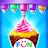 Ice Cream Cone Cupcake-Cupcake Mania logo