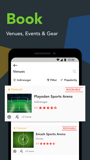 Playo - Find Players, Book Venues, Manage Groups ss3
