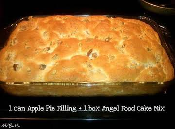 APPLE ANGEL FOOD CAKE