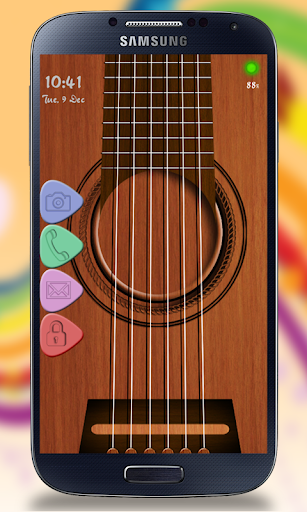 Screen Locker - Guitar Theme