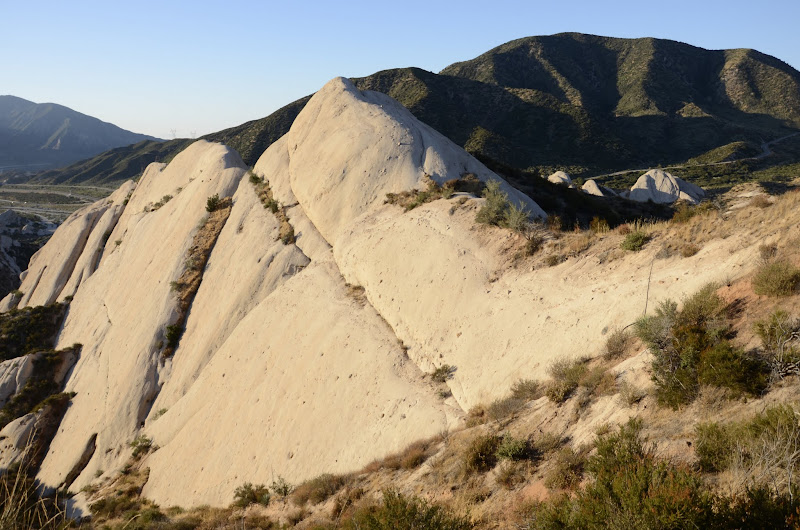 Photo: Mormon Rocks from the West end