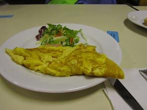 Photo: een omelet als opkikker