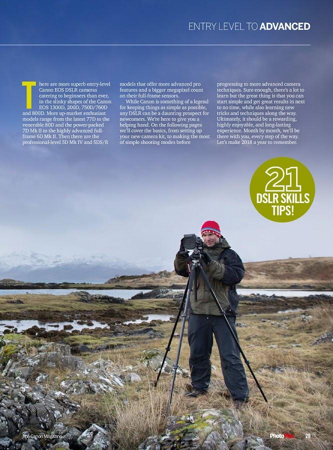 PhotoPlus: the Canon DSLR photo magazine- screenshot