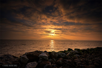 Photo: Heavens Gate  You do not have to believe in a god or life after death to believe that there is something greater than yourself. You only have to look up at sunset and realise that you are stood on a rock that has all that you need to live, circulating around another rock that keeps you warm. Its then you realise that you are in fact stood on heavens gate.  Good morning Googler's sorry for those of you who have seen this image appear then disappear but I'm having issues yet again with uploading here!