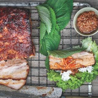 How To Make Pork Belly Lettuce Wraps.