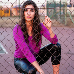 Sherica by Gavin Smith - People Portraits of Women ( beauty, young, purple, model, fashion )