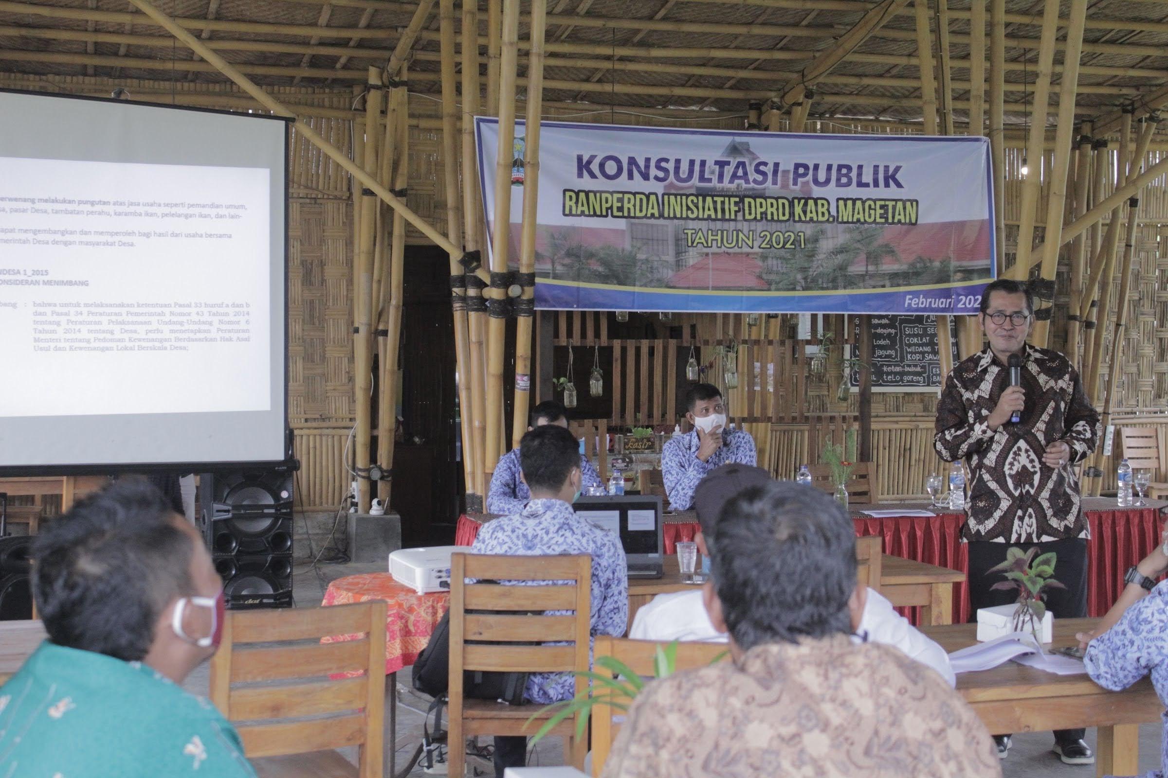 Konsultasi Ranperda Inisiatif Tahun 2021