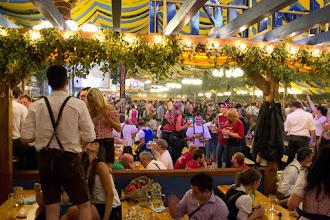 Photo: Between songs at the beer garden at Volksfest, Stuttgart Germany.