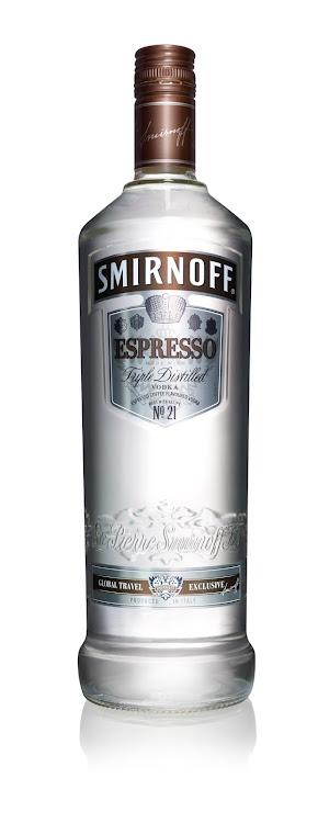 Logo for Smirnoff Espresso Coffee Flavoured Vodka