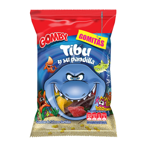 gomitas gomby tibu y su pandilla 100gr