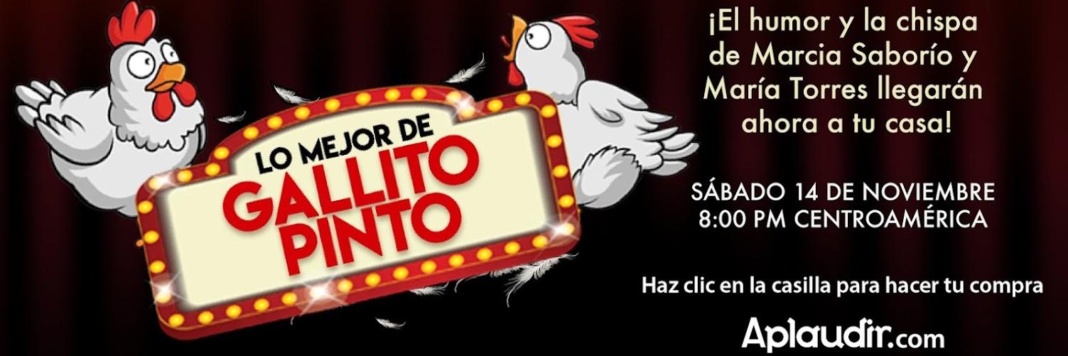 Lo Mejor de Gallito Pinto con Marcia Saborío y María Torres