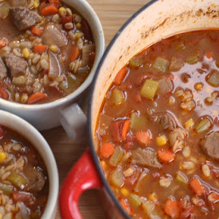 Easy Beef and Barley Soup Recipe