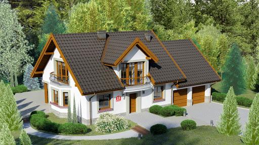 projekt Dom przy Wiosennej 15