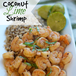 Cook at Home & Coconut Lime Shrimp