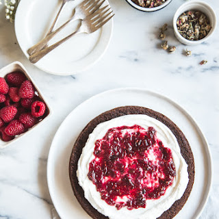 Gluten-Free Olive Oil Chocolate Cake.