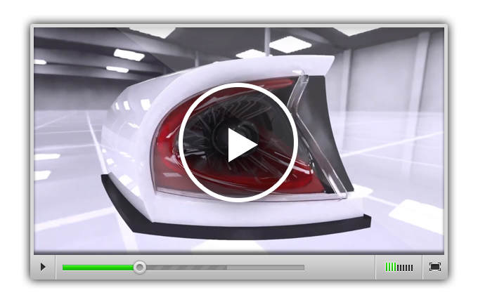 Демонстрация возможностей ANSYS SPEOS Live preview. Разработка компании ARRK.