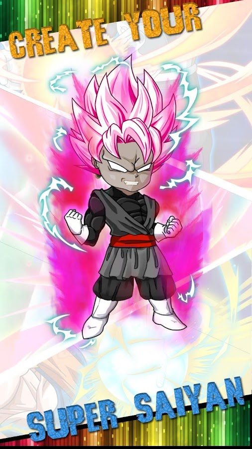 Screenshots of Super Saiyan Dress Up Game for iPhone