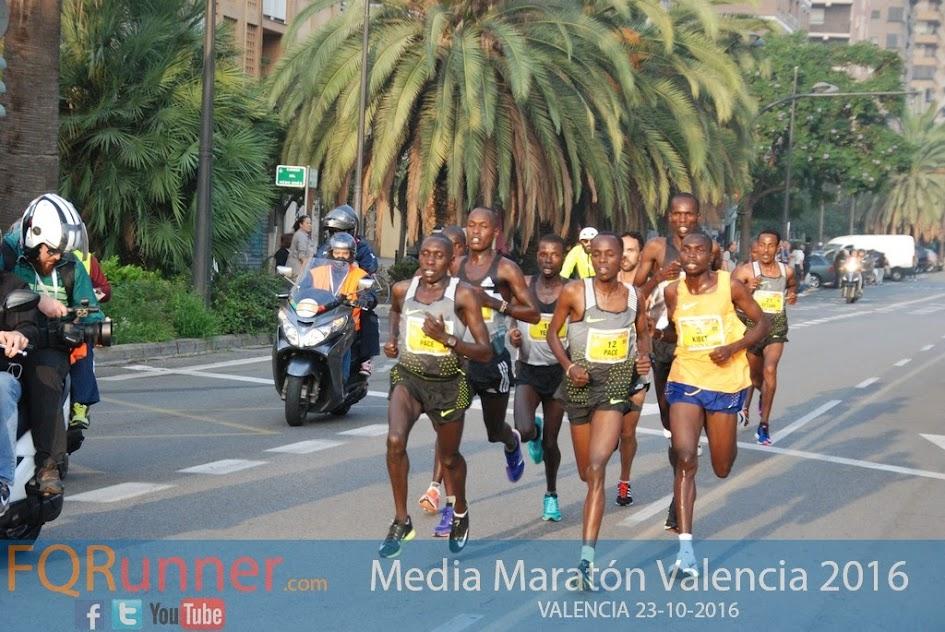 Media maratón de Valencia 2016