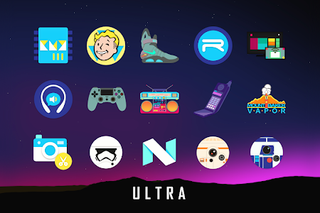 Ultra Icon Pack BETA v0 6beta APK Personalization Apps for Android