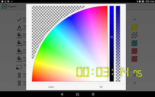 Floating Stopwatch, free multitasking timer 3.2.7 screenshots 5