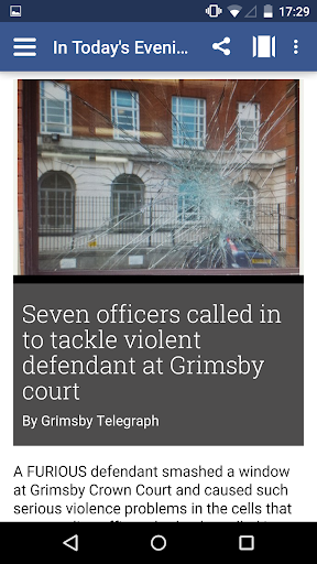 Grimsby Telegraph Evening Edit